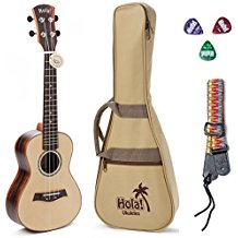 Concert Ukulele SOLID Top Series by Hola! Music