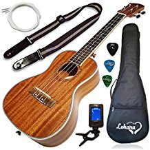 Ukulele Concert Size Bundle From Lohanu 1