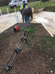 """Raised track 5"""" gauge completed and 40 meters of dual gauge completed Well done again team."""
