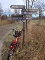 Väl skyltat för cyklister