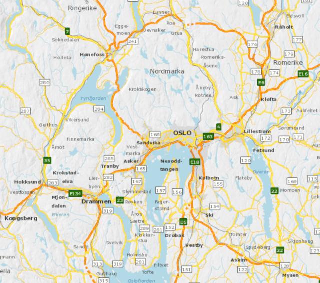 Veinett-Hovedstadsregionen-SVV-Vegkart-2015