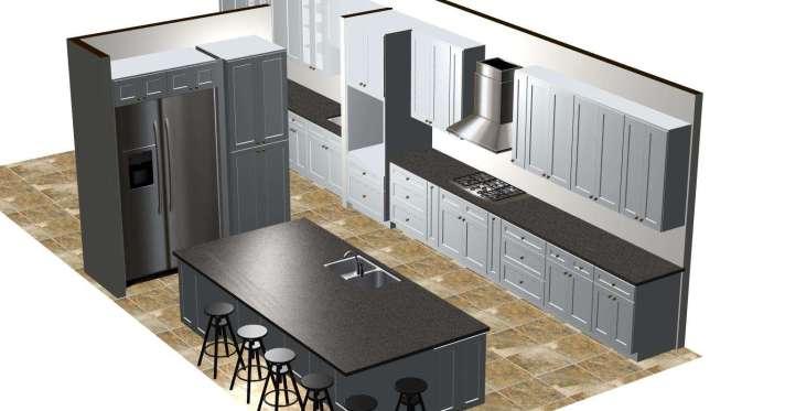 3D kitchen renderings Chandler Arizona