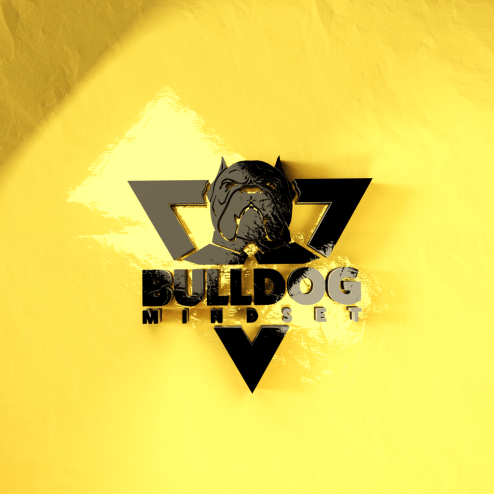 bulldog mindset logo health wealth and relationships