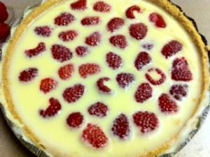 As Seen on Pinterest: White Chocolate Raspberry Tart