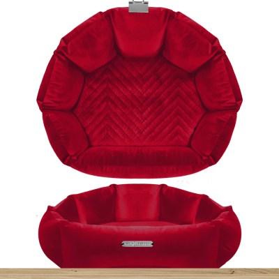 St Germain - Shell Sofa Rouge