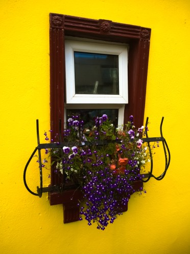 Kinsale is a particularly bright and lovely village to stroll through