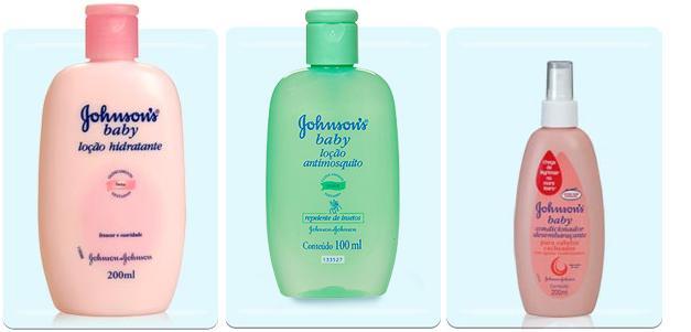 Johson tem vários produtos cheirosos e gostosos que a gente pode pegar emprestado dos nossos pequeninos!