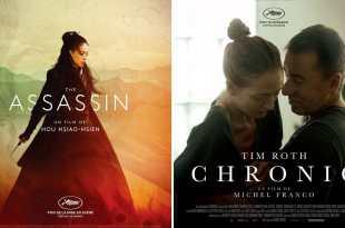 The Assassin et Chronic affiches films cinéma