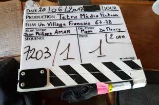 Un village français saison 7 (2e partie) image tournage 1