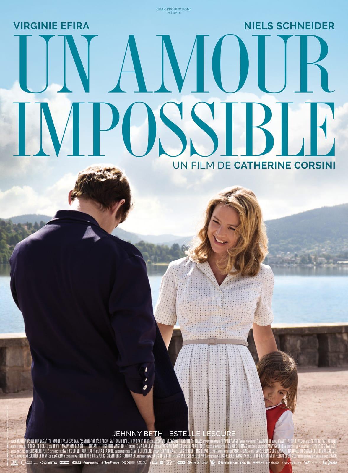 """Critique / """"Un Amour impossible"""" (2018) : la métamorphose de Christine Angot 1 image"""