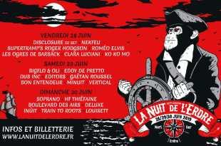 La Nuit de l'Erdre 2019 affiche festival musique