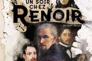 Un soir chez Renoir de la Cie Hé ! Psst ! affiche théâtre