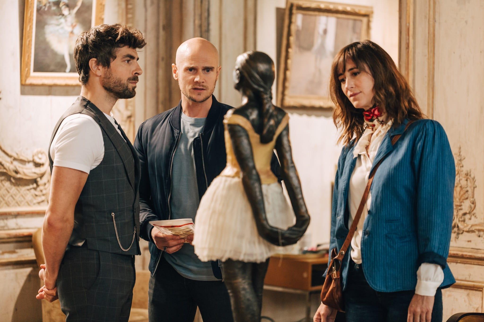 L'art du crime épisode Un Fantôme à l'Opéra image série télé