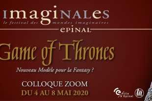 colloque Game of Thrones, nouveau modèle pour la fantasy ? affiche Les Imaginales 2020 série