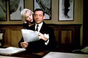 Signoret et Montand Monroe et Miller : deux couples à Hollywood image documentaire
