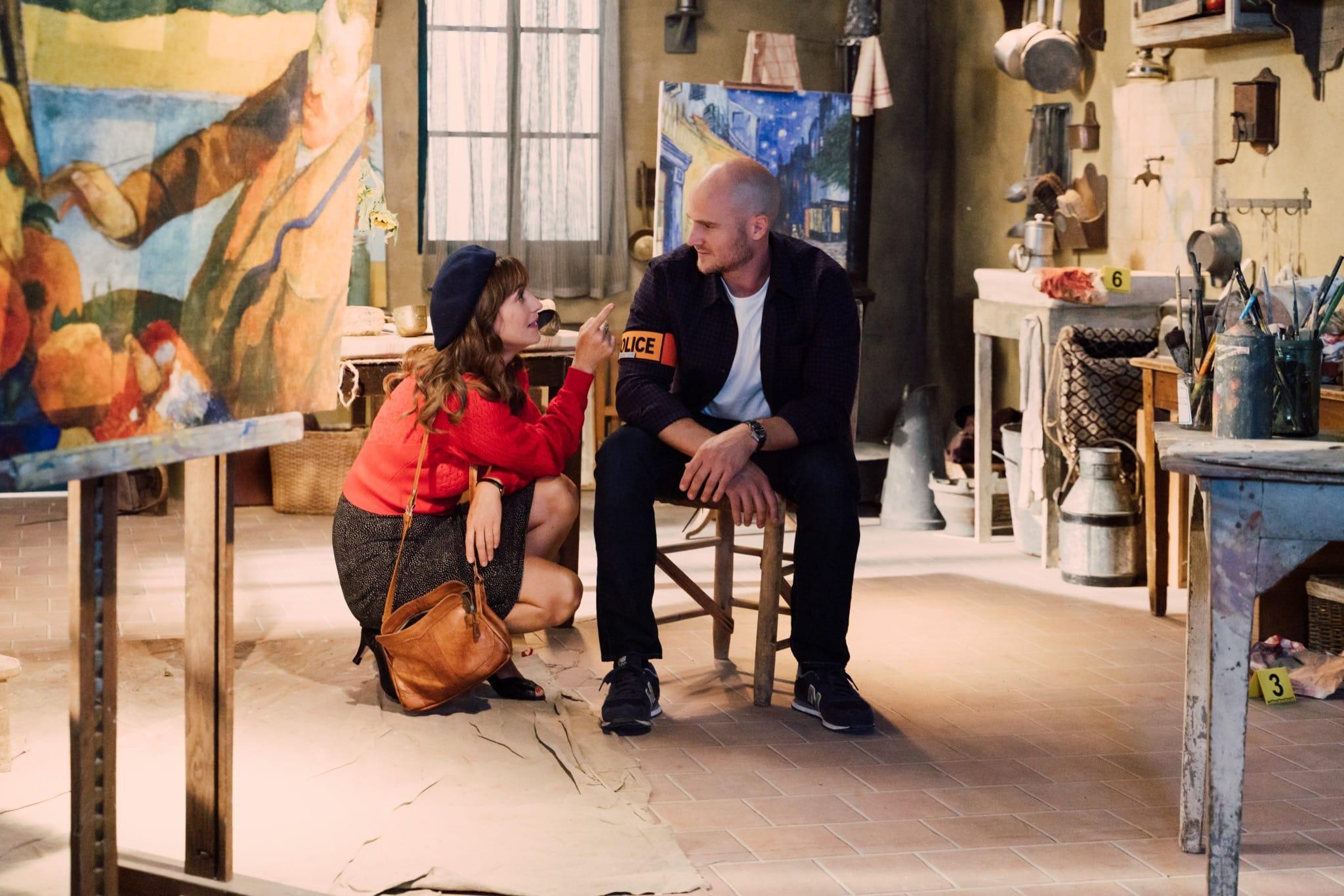 L'Art du crime saison 4 épisode 1 Le testament de Van Gogh image série télé