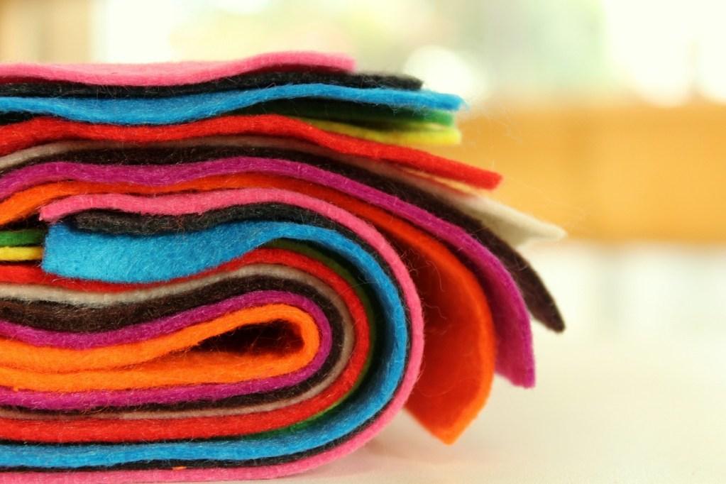 tissus feutre couture