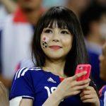 Bijins de la semaine (53) : les supportrices de la Sakkā Nippon Daihyō