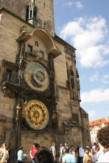 Horloge astronomique à Prague