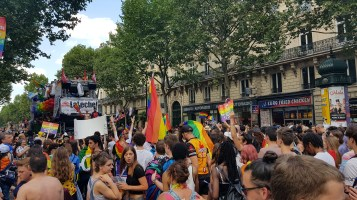 Gaypride à Paris
