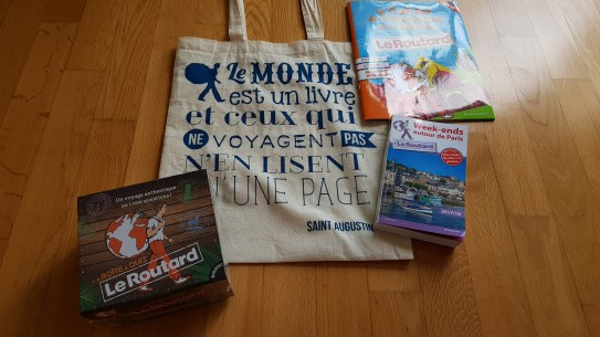 Goodies offert par le Routard