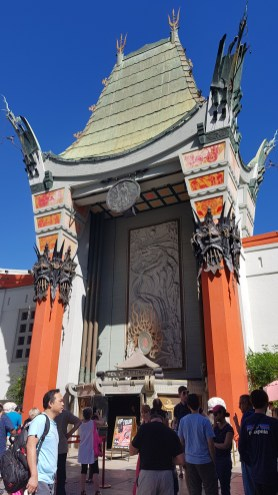Bulles de voyages - Chinese Theatre sur Hollywood Boulevard à Los Angeles - USA - Côte ouest Etats-Unis