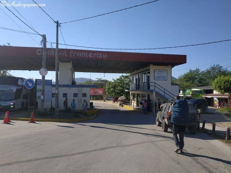 puerto quijarro frontière