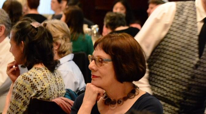 Keith Ann Stiverson Receives Agnes and Harvey Reid Award