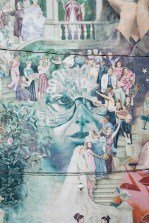 This complex mural includes images of local and national leaders in the movement for womens' rights. Call 215-525-1577 and press 8# to hear about this mural.