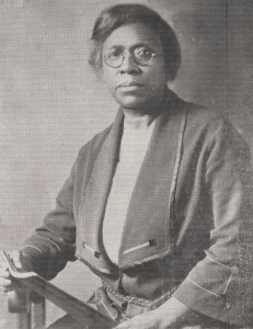 Portrait of Dr. Evans in the official program of the Bishops' Council of the African Methodist Episcopal Church (courtesy of the R. Carroll Papers, South Caroliniana Library, University of South Carolina, Columbia, SC)