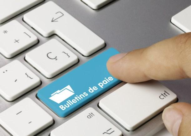 Bulletins de paie. Clavier