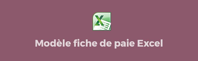 Telecharger Modèle De Fiche De Paie Excel Gratuit 2018