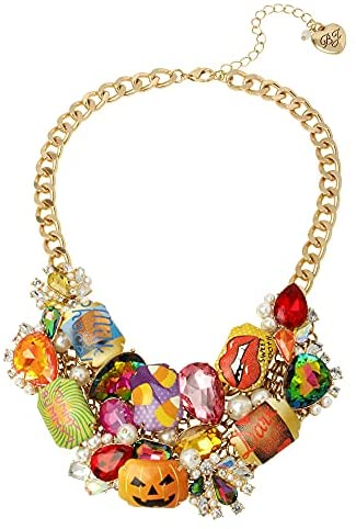 Betsey Johnson Candy Statement Necklace