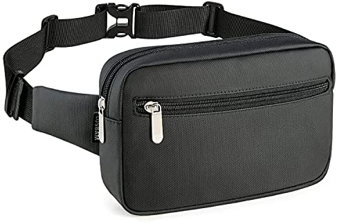 Fanny Packs for Women Fashionable, Men Belt Bag Fashion Waist Pack for Kids Girls Boys with 8 Pockets Adjustable Belts, Cute Fanny Pack Casual Hip Bum Bags for Disney Travel Hiking Cycling
