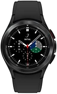 SAMSUNG Galaxy Watch 4 Classic 46mm Smartwatch with ECG Monitor Tracker for Health Fitness Running Sleep Cycles GPS Fall Detection LTE US Version, Black