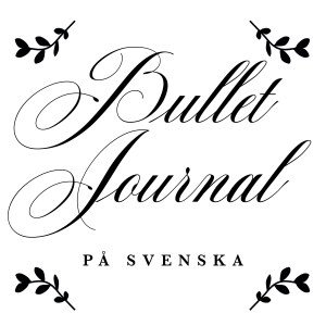 bullet journal på svenska | bullet journal | bug