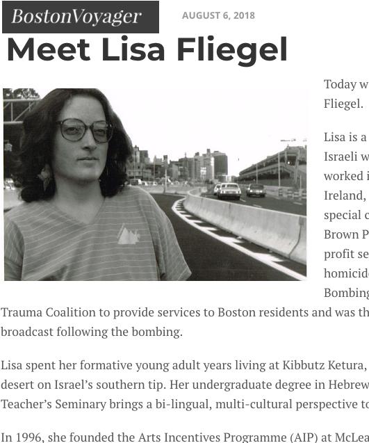 Boston Voyager Interview