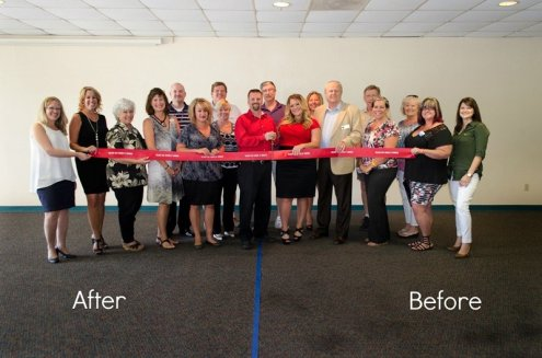 Before & After_Lockwood Carpet Cleaning and Tile Repair_ribbon Cutting_Bullhead area chamber of commerce_photos_photography_Nickey's Photo Creations (3)