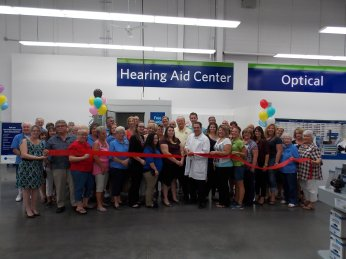 Sams Club Hearing Center Ribbon Cutting-9-11-2015