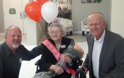 Happy 100th Birthday Lottie Hatmaker!
