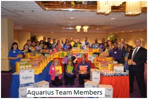 Aquarius Team Members Collect School Supplies For 3 Local Elementary Schools