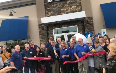 Ribbon Cutting at Culvers!