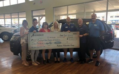 Anderson Ford Makes Huge Contribution to Bullhead Area Chamber of Commerce Event