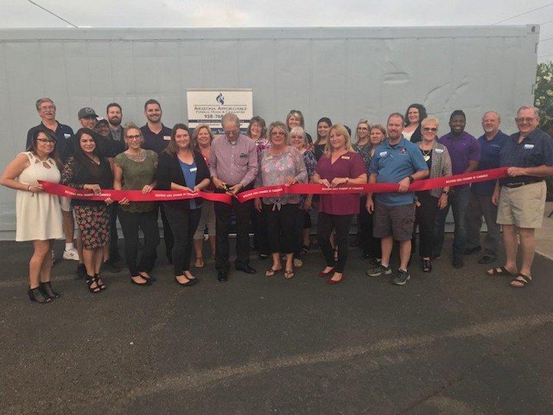 Arizona Affordable Cremations Has Ribbon Cutting and Mixer