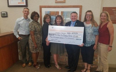 VVMC Celebrates 20th Anniversary of LifePoint Health with Donationfor Bullhead City Shelter