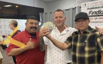 Bullhead City Shop with a Cop Receives Donation!