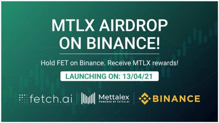 Mettalex (MTLX) Airdrop Program for Fetch.ai (FET) Holders on Binance<span class=