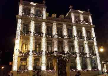 Beleuchtung Weihnachten Lissabon