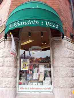 Buchhandlung in Ystad