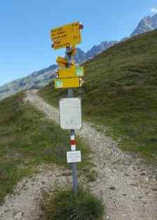 Wanderweg Via Spluga Splügenpass